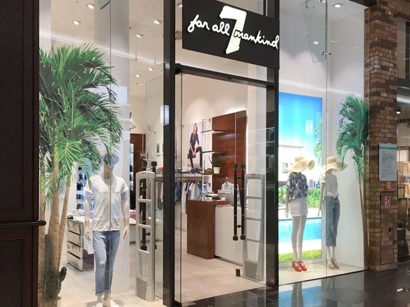 Schaufenstergestaltung Modeboutique